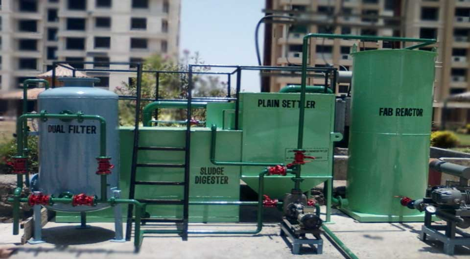 Sewage Treatment Plant Manufacturers in Gujarat India