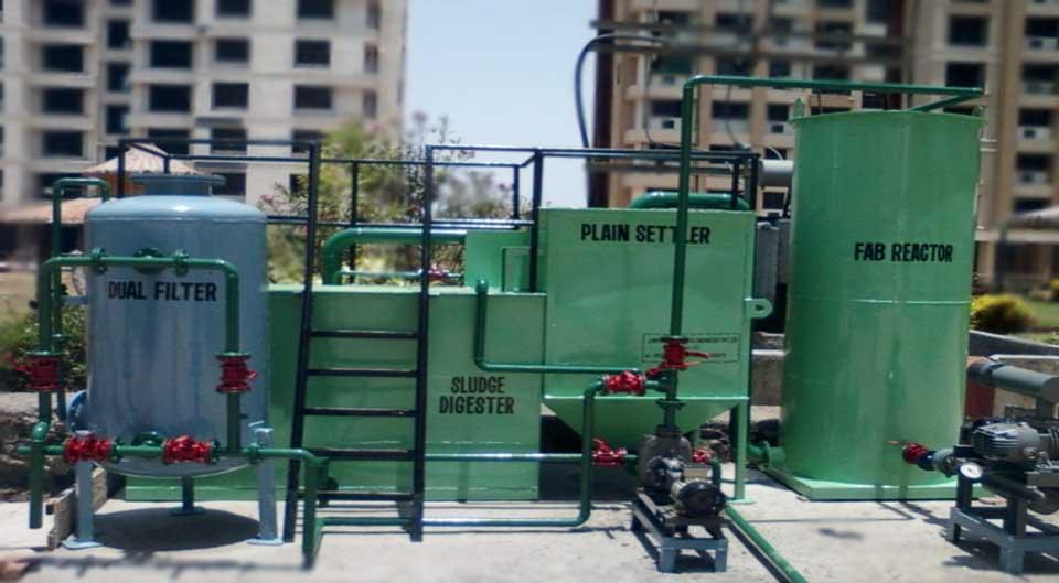 Sewage Treatment Plant Stp Process Stp Plant Saff Based